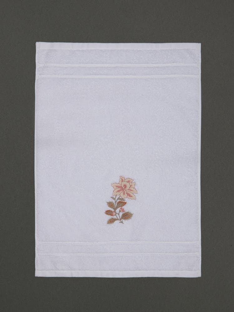 Off White Hand Towel