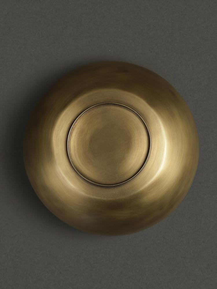 Brass Cochin Kansa Serving Bowl (Large)
