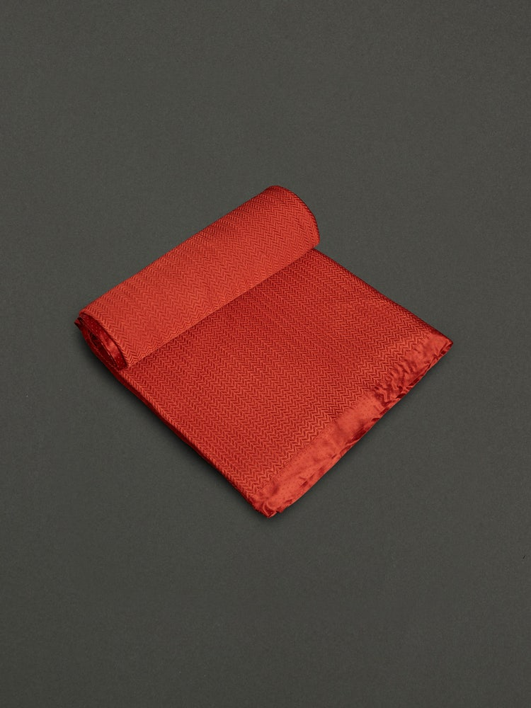 Rust Baagh Double Bed Coverlet