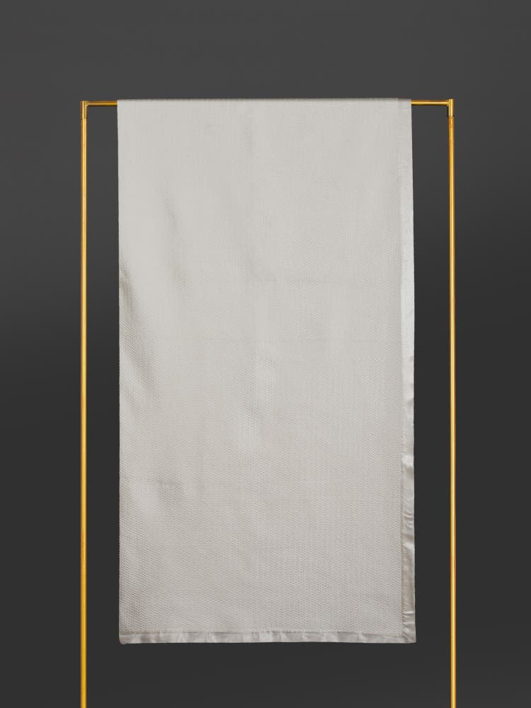 Ivory King Size Coverlet
