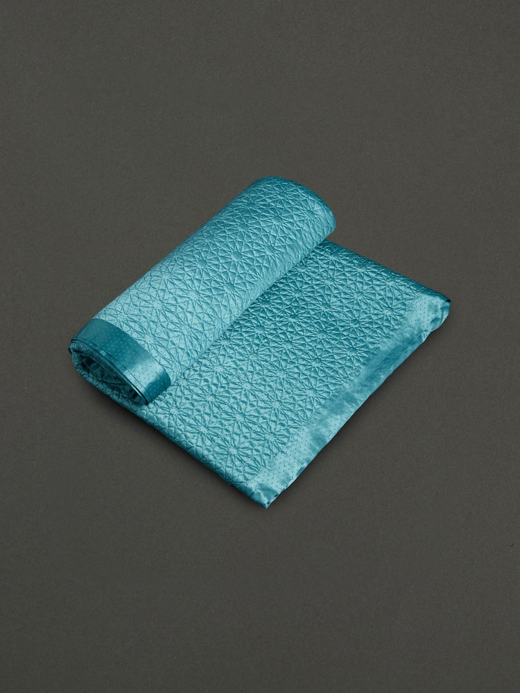 Teal Jal Mahal King Size Coverlet