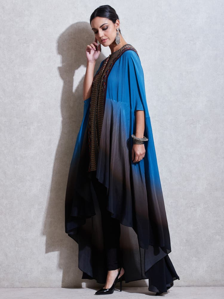 Blue Gradient Cape