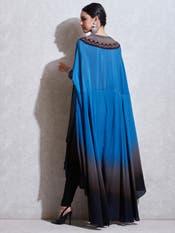 Blue Gradient Cape