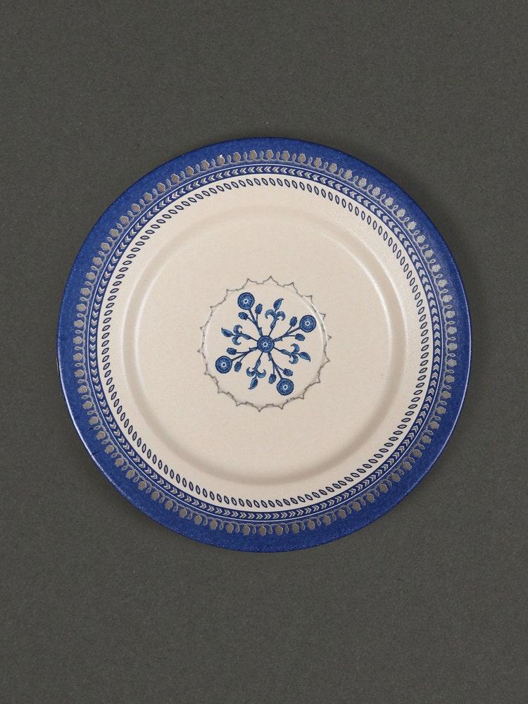 Blue Jalmahal Cup And Saucer Set (Set Of 2)