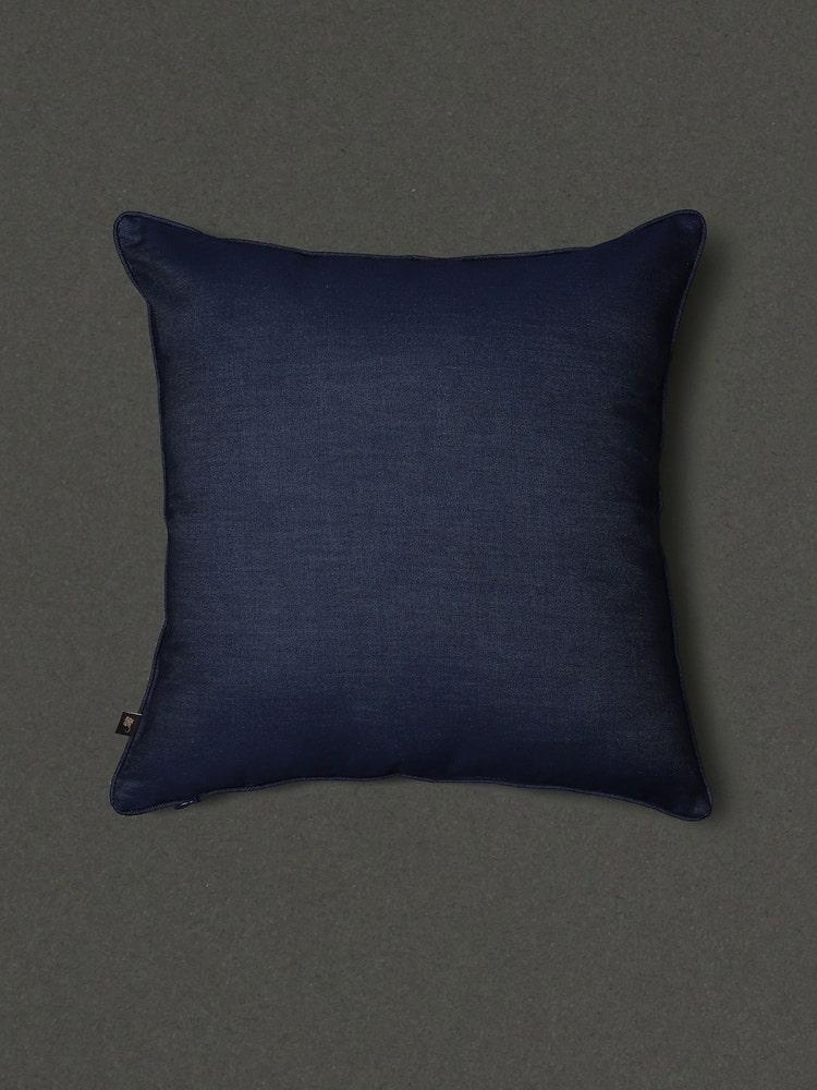 Blue Jalmahal Cushion