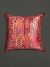 Padmana Maroon Cushion with Filler