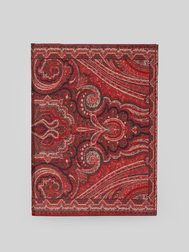 Rust Jamavar Print Journal