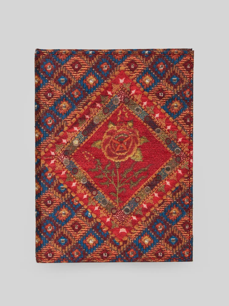 Red Kutch Print Journal