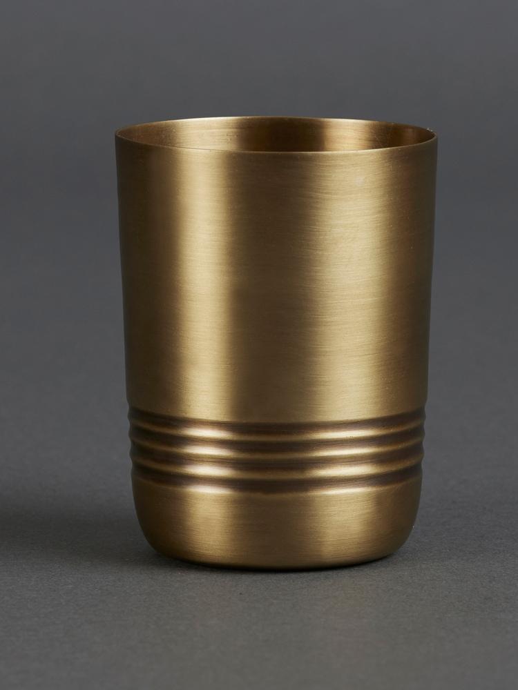Brass Kansa Glass