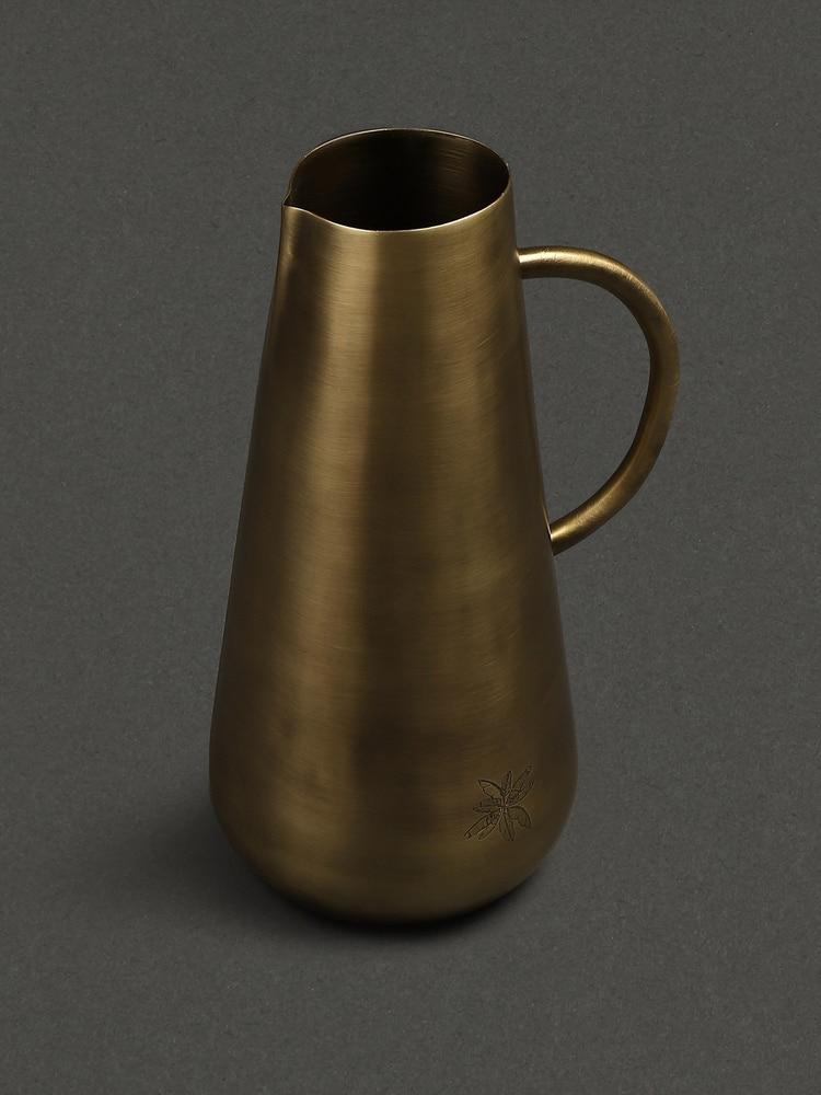 Brass Cochin Kansa Jug