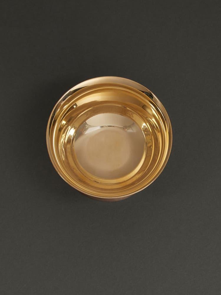 Gold Kansa Dessert Bowl