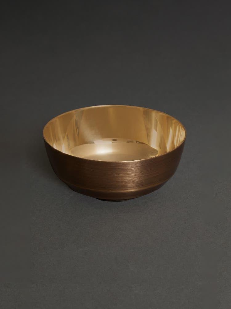 Gold Kansa Katori (Set of 2)