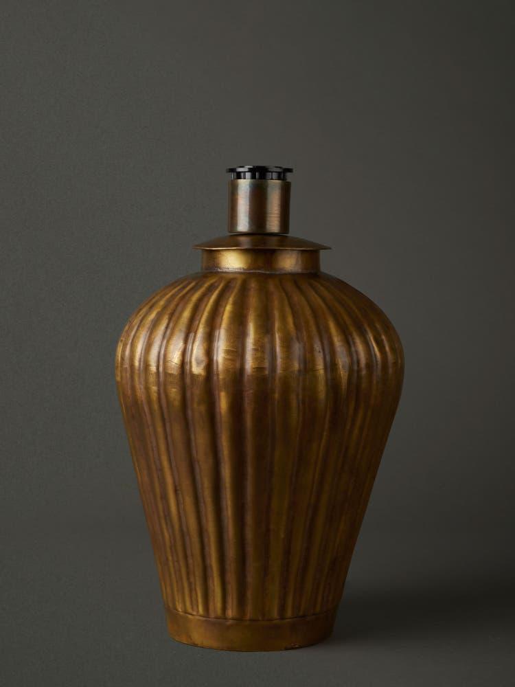 Antique Gold Lamp Base
