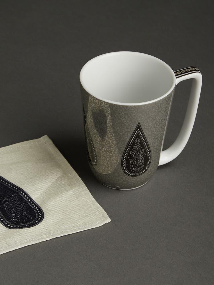 Black Awadh Mug