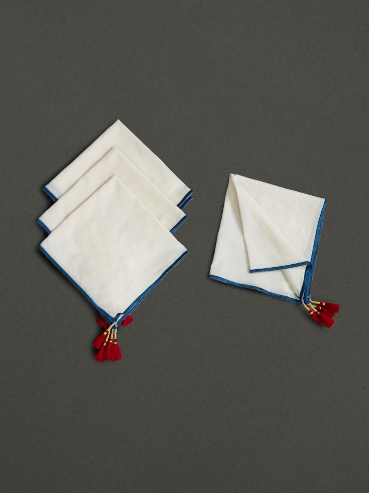 Ivory Dinner Napkin (Set of 4)