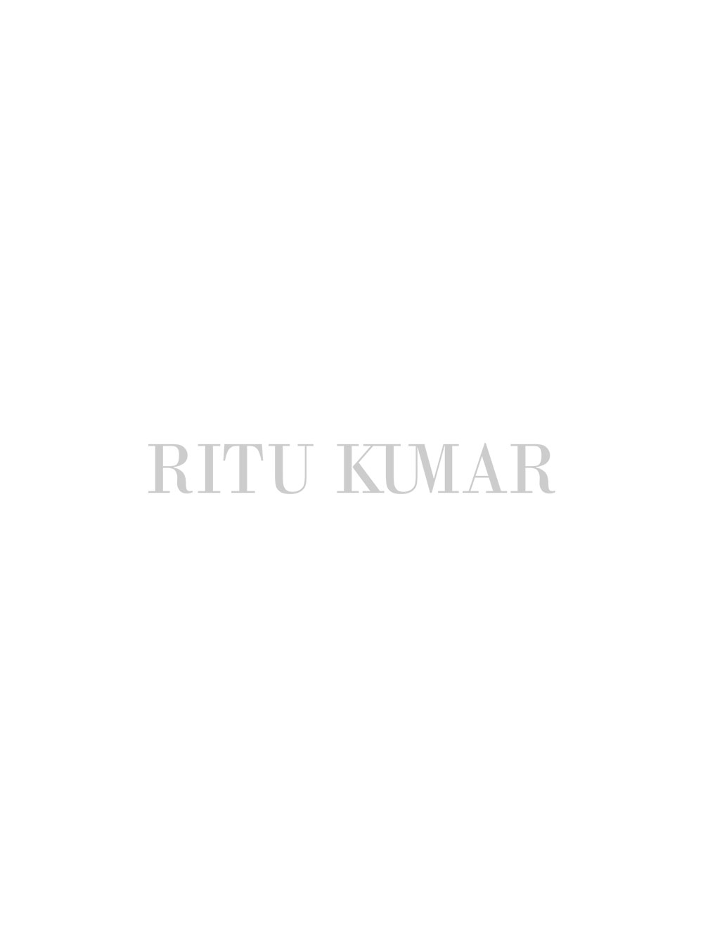 Black & White Awadh Charger Plate
