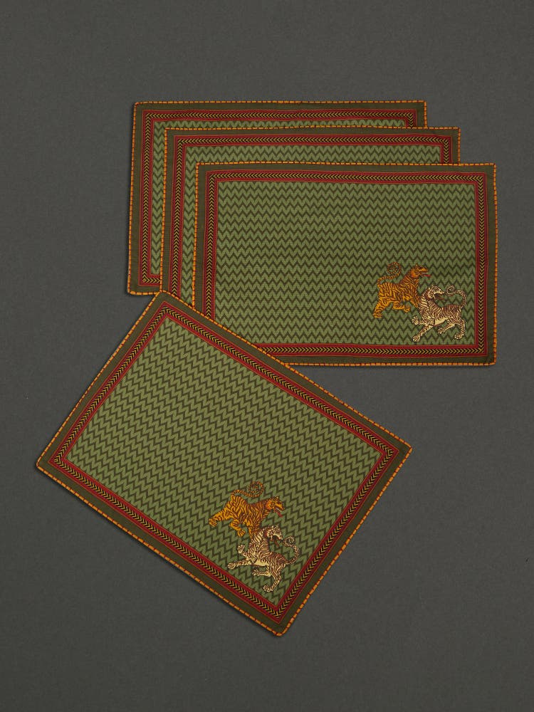 Baagh Placemat (Set of 4)