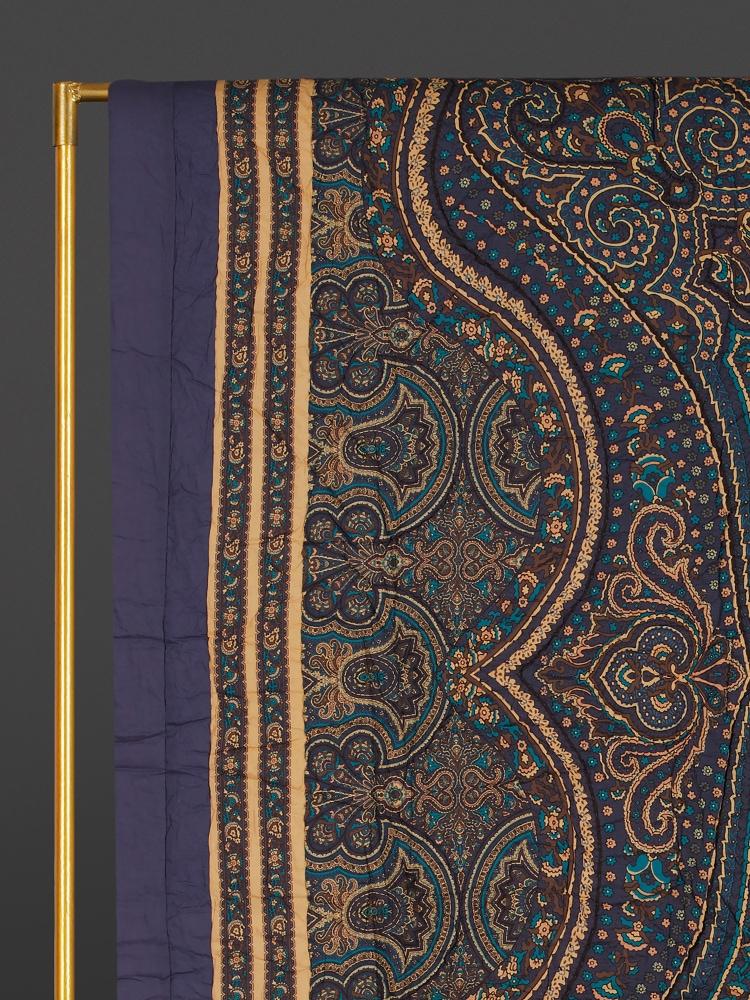 Blue Jaamevar King Size Quilt