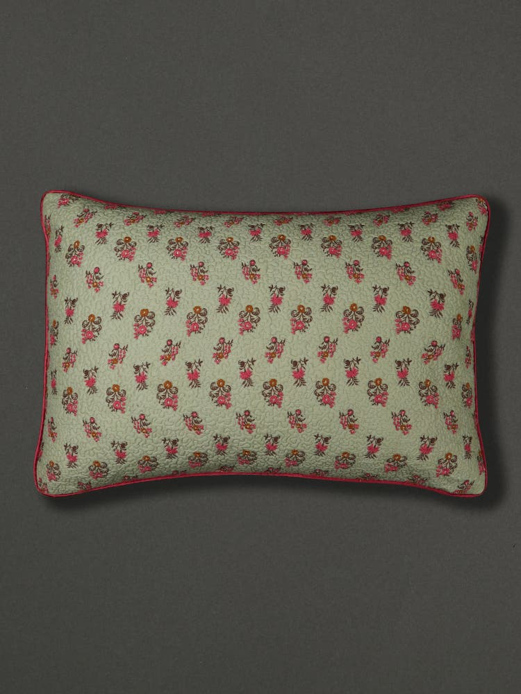Chidambaram Pillow Sham with Filler