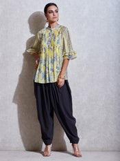 Graphite Grey Dhoti Pants