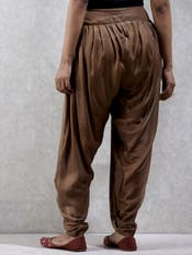 Golden Dhoti Salwar