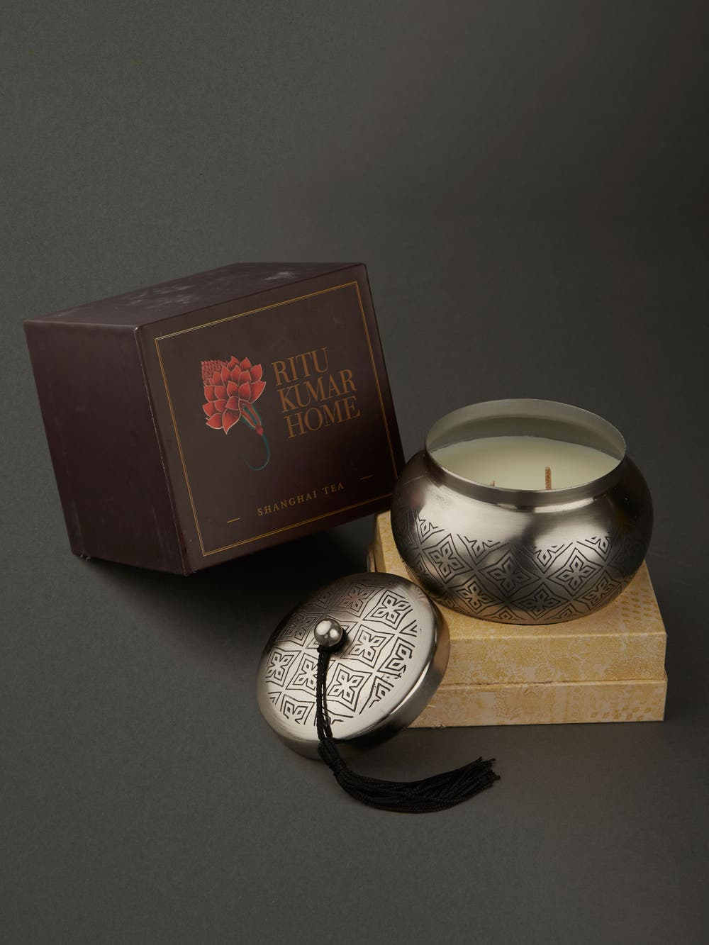 Shangai Tea Brass Lid Votive