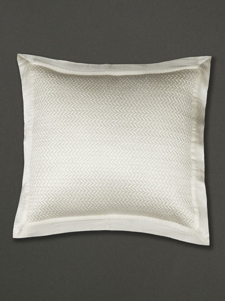 Ivory Cushion with Filler