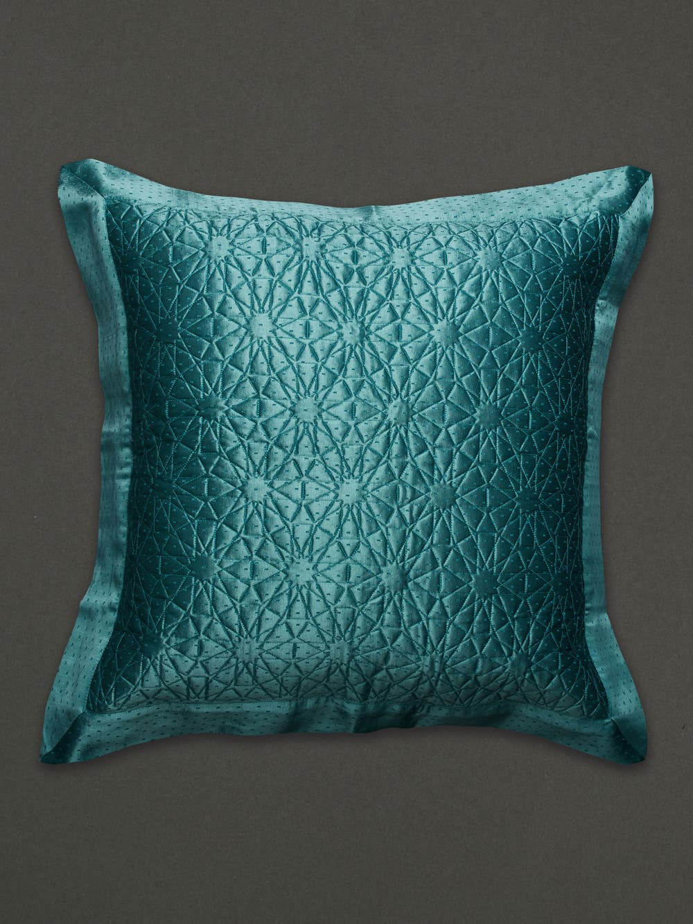 Teal Cushion with Filler