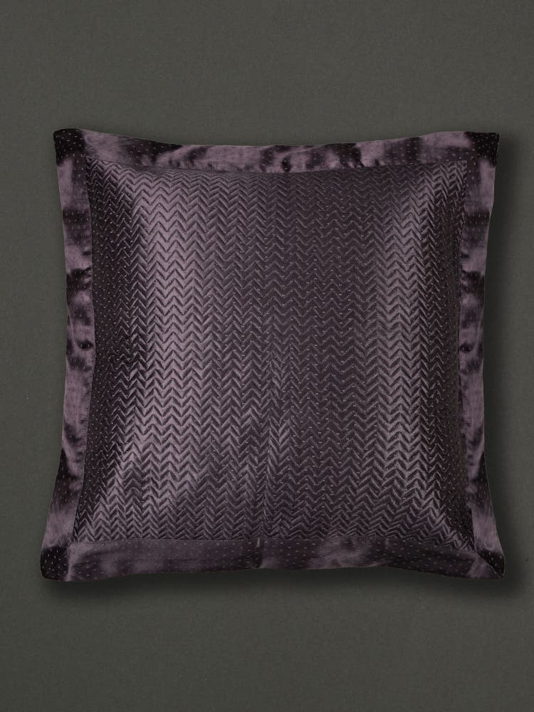 Black Cushion with Filler