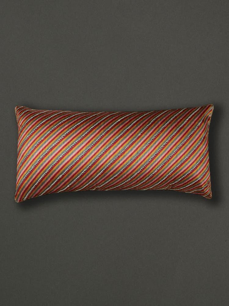 Kalamkari Rectangle Cushion with Filler