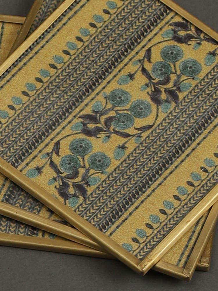 Jalmahal Print Coasters (Set of 6)