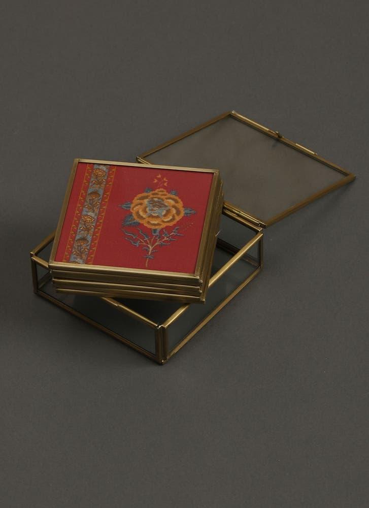 Lavana Print Coasters (Set of 6)
