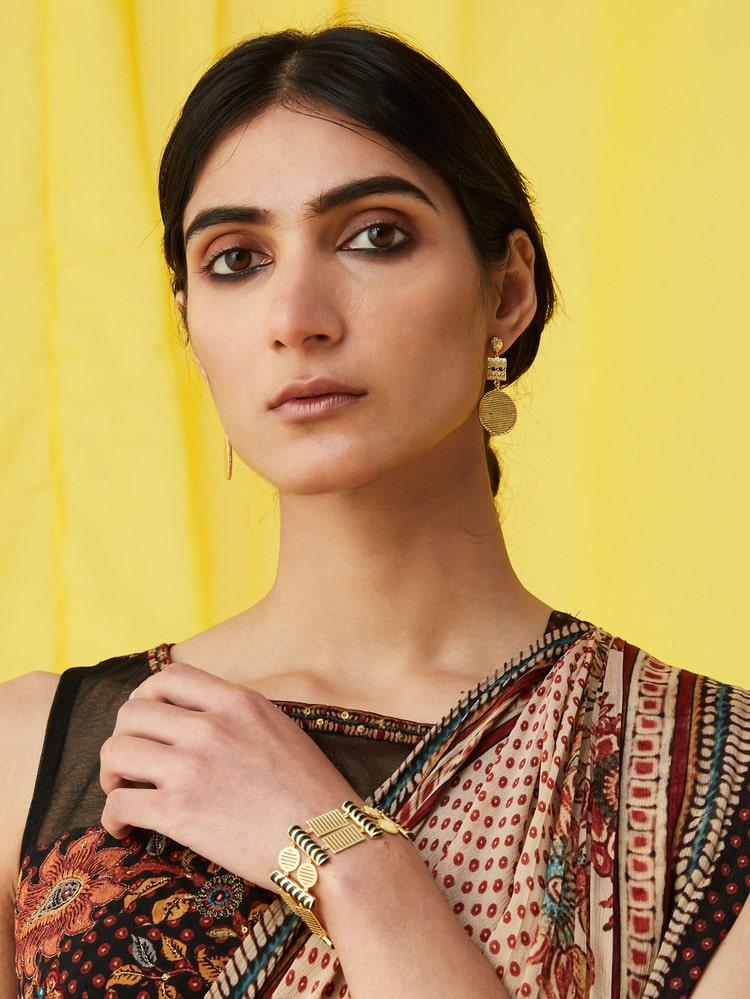 RITU KUMAR by LATIQUE Golden Aamer Bracelet