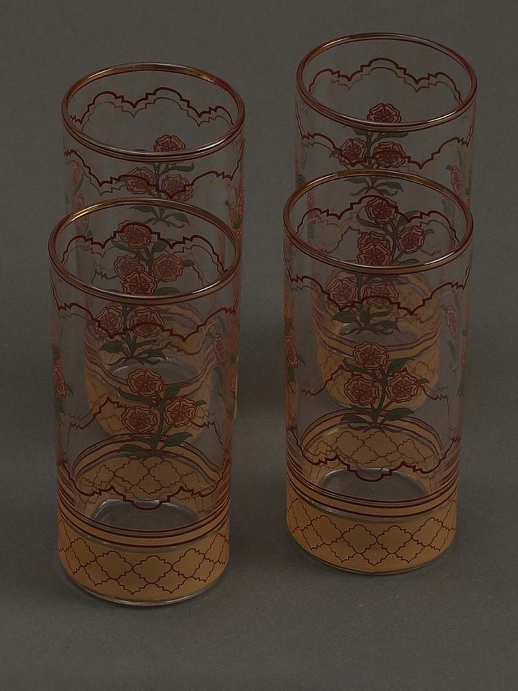 Beige Uttama Glasses (Set of 4)