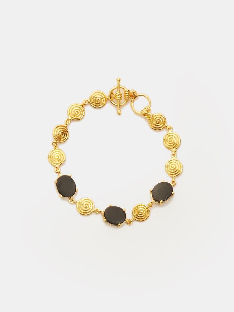 Golden Zebu Bracelet