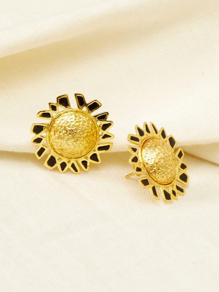 Golden Elam Earrings