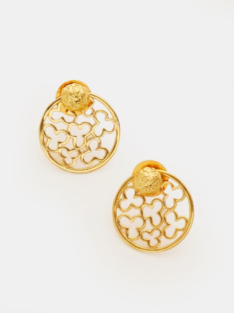 Golden Shem Earrings