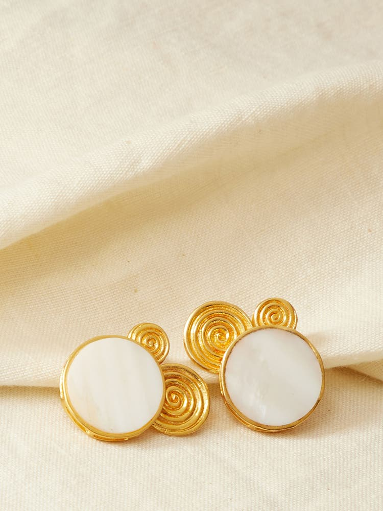 Golden Viraya Earrings