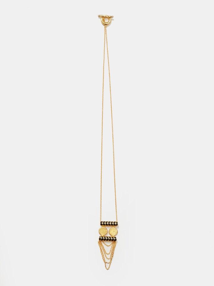 RITU KUMAR by LATIQUE Golden Aamer Necklace