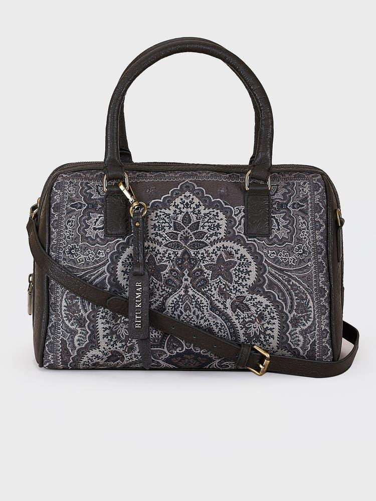 Olive Printed Grab Bag
