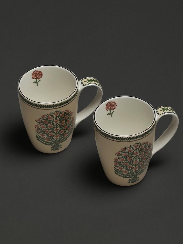 Beige Uttama Mugs (Set of 2)