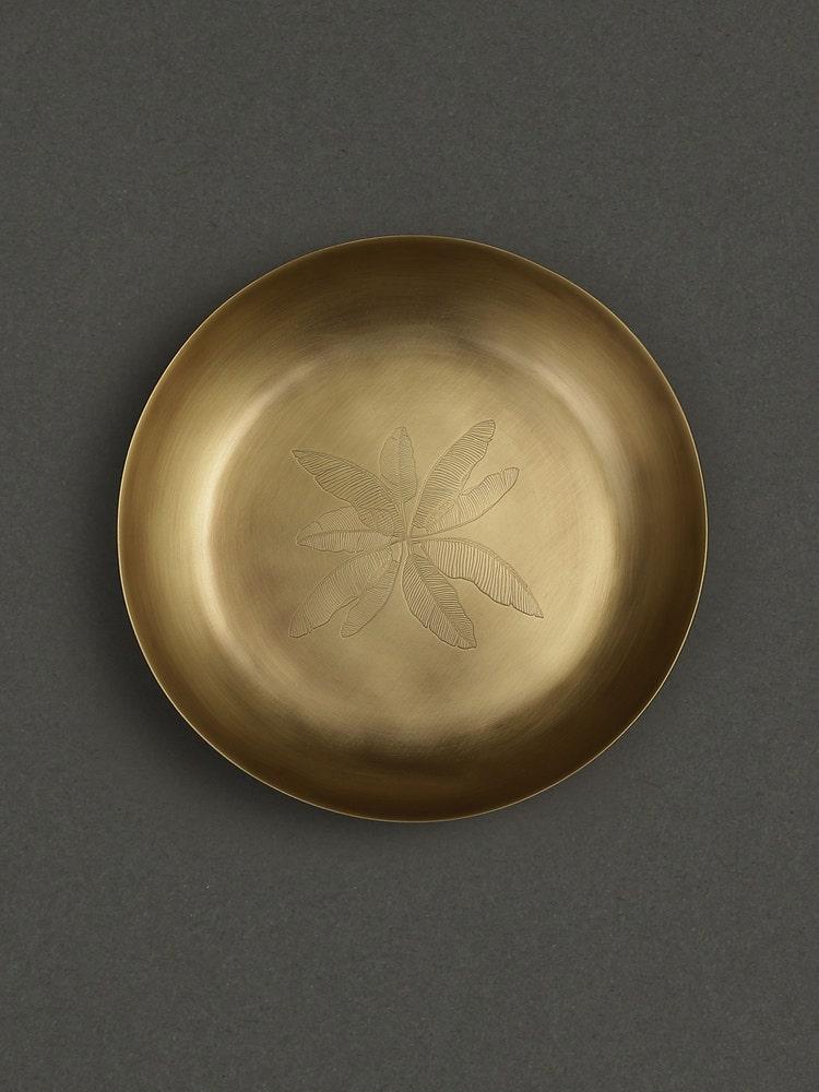 Brass Cochin Kansa Pasta Plate