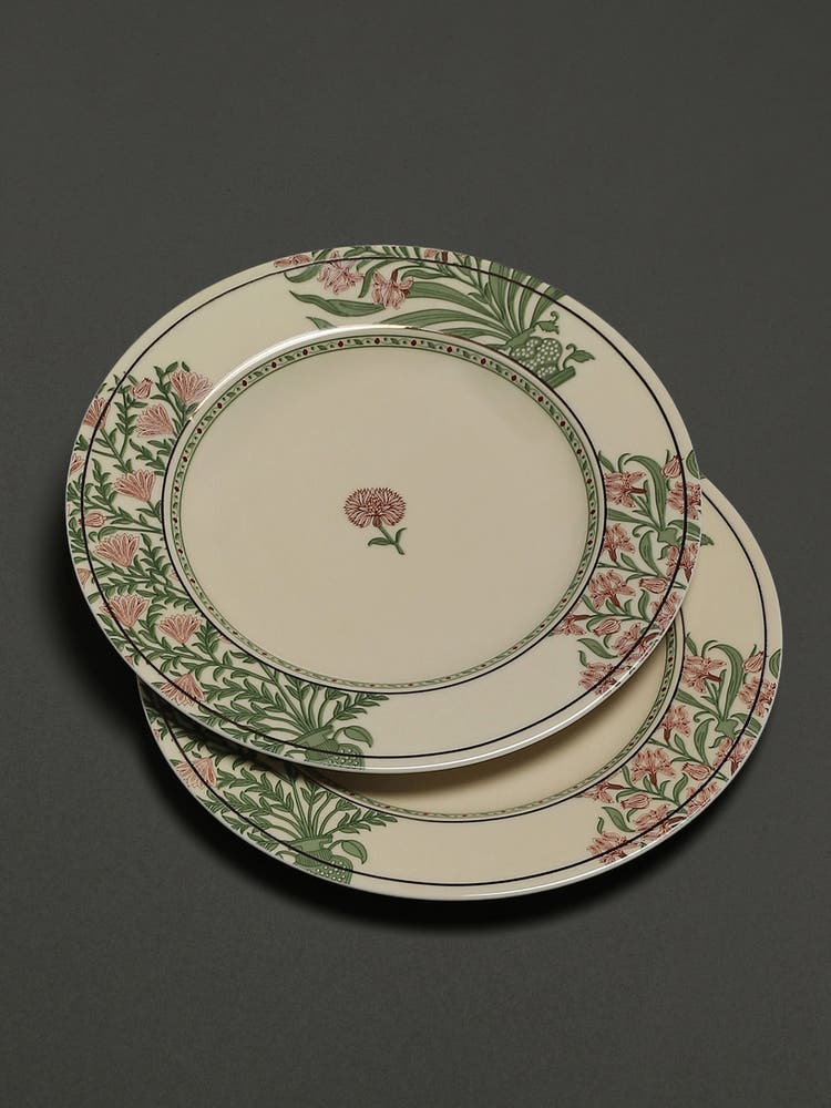 Beige Uttama Dinner Plates (Set of 2)