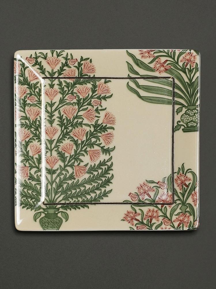 Beige Uttama Serving Platter (Set of 2)