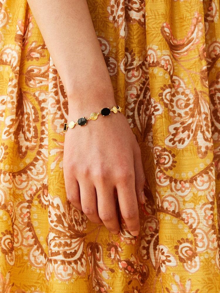 RITU KUMAR by LATIQUE Golden Zebu Bracelet