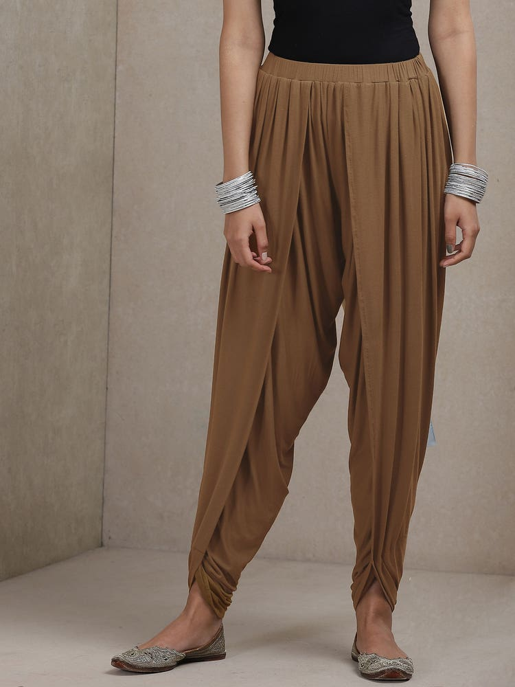 Mud Brown Dhoti Pants