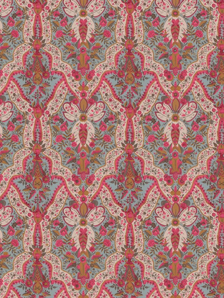 Chidambaram Cotton Satin Fabric
